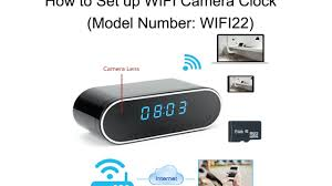 WISEUP How to Set up <b>WIFI</b> Camera Clock (Model Number: WIFI22 ...