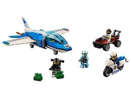 <b>Конструктор LEGO</b> City Police <b>Воздушная полиция</b>: арест ...