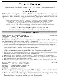 demand planner resume
