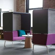 modern office lounge furniture. bivi freestanding rumble seat with hoodie office loungeextra seatingmodern officesoffice furnitureoffice modern lounge furniture