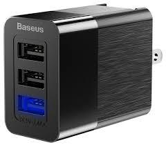 Сетевая <b>зарядка Baseus Duke</b> Universal Travel <b>Charger</b> — купить ...