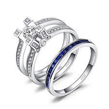 <b>JewelryPalace</b> 1.5ct Square Created Sapphire <b>Cubic Zirconia</b> ...