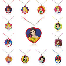 <b>1PCS PVC Necklace Cartoon</b> Figure Beautiful Princess Doc ...