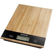 Купить <b>Весы кухонные</b> Marta MT-1639 <b>бамбук</b> в каталоге ...