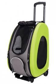 Pet Wheeled Carrier <b>Складная сумка</b>-<b>тележка</b>, <b>3</b> в 1 / Ibiyaya (Китай)