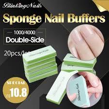 BlinkingNails 20pcs/<b>lot</b> Mini Nail Buffers Blocks Polishers Nail Block ...