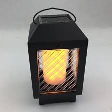 China Solar Power <b>LED Flame Lamp</b> with Fire Light Light Board ...