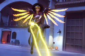 screen background image handy living: yesterdays release of a witchy costume for everyones favorite overwatch healer mercy was a long time coming for many but few seem content to just look