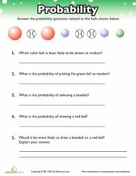 Probability Worksheets & Printables | Education.comMath. Worksheet. Probability Practice