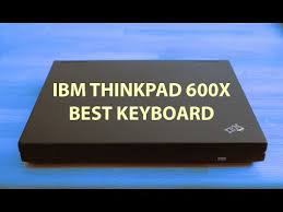 IBM <b>Thinkpad 600X</b> - first modern laptop? - YouTube
