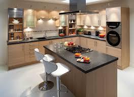 l shaped light brown cabinet kitchen island with black granite countertop kitchen island table combination oak black white modern kitchen tables