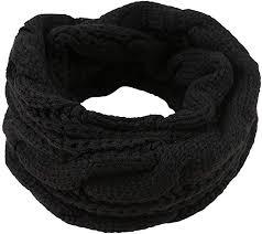 Redacel Women <b>Winter Warm</b> Circle Ring Knitted Infinity Scarf Neck ...