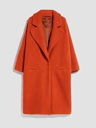 <b>Faux fur coat</b>, orange - Max&Co.