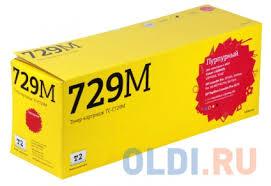 <b>Картридж T2</b> TC-C729M Magenta (с чипом) / Canon 729M ...