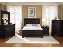 the furniture black rubbed finished bedroom set with panel bed southern cachet black furniture room ideas