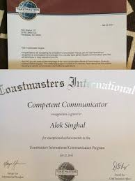 toastmasters the learning curve alok singhal competent comunicator
