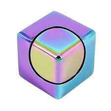 EDC Mini <b>Cube</b> Design Square Hand Spinner, <b>Aluminum Alloy</b> ...