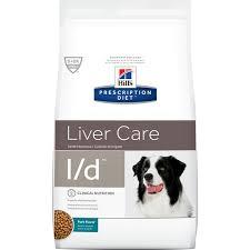 <b>Hill's Prescription Diet l/d</b> Liver Care Pork Flavor Dry Dog Food, 17.6 ...