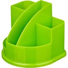 Подставка для канцелярских мелочей <b>Attache</b> Fantasy зеленая 5 ...