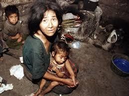 Resultado de imagen para dibujos de miseria y pobreza en el perú