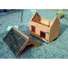 Outdoor Cat House  Diy Cat House PlansDIY Cat House Plans http     pic fly com DIY