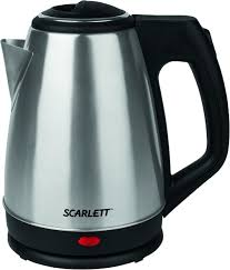 Купить электрический <b>чайник Scarlett SC-EK21S25</b>, Металл ...