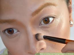 image led contour and highlight your face makeup step 9