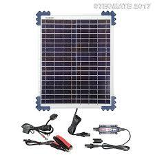 TecMate OptiMATE SOLAR + <b>20W Solar Panel</b> - TecMate
