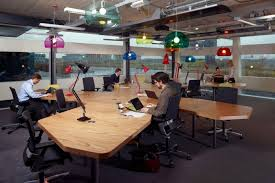 open office cubicles. photo courtesy of be interior decorator open office cubicles