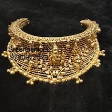 Pure <b>Handmade Indian Gold</b> Jewellery | <b>Antique Gold</b> Choker ...