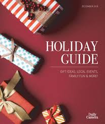 Holiday Guide 2018 by Greg Stone - issuu