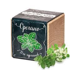 <b>Растение Экокуб</b> Орегано <b>ECB</b>-<b>02</b>-04 и это орегано пряность ...