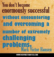 Picture Quotes about overcoming challenging problem ... via Relatably.com