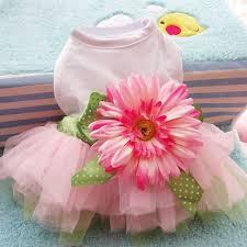 Pet <b>Dog Dress</b> Clothes <b>Sunflower</b> Cute Princess Wedding Ball ...