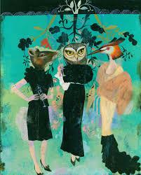 <b>Fashion Animals</b> by Olaf Hajek   LUMAS