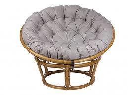 <b>Кресло Papasan Chair</b>, Рогожка, Светлый Серый, артикул ...