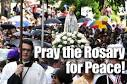 Pray The Rosary for Peace!