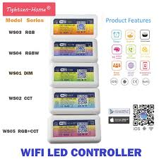 Online Shop DC 12V 24V Smart <b>LED</b> WIFI Controller RGB RGBW ...