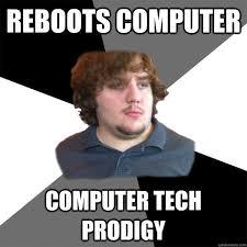 Family Tech Support Guy memes | quickmeme via Relatably.com