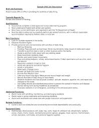 a cna job description let s between the lines sample cna job description