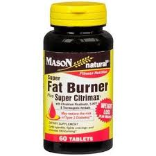 Mason Natural <b>Fat Burner Plus Super</b> Citrimax Tablets