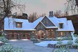 House Plan at FamilyHomePlans comCottage Craftsman French Country House Plan Elevation