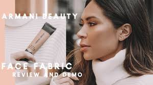 <b>Armani Face Fabric</b> Foundation   Review & Demo - YouTube