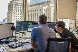 digital signage careers broadsign core team at work