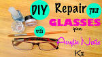 Learn how i fixed my glasses using a piece of plastic from a price tag