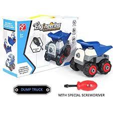 Take Apart <b>Construction</b> Truck <b>Toys</b> for <b>Kids</b>,<b>Simulation Kid</b> Stem ...