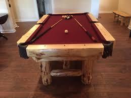 pool tables orig rustic pool tables  orig rustic pool tables