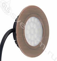 <b>Точечный</b> встраиваемый светодиодный <b>светильник LED</b> Polo 4W ...