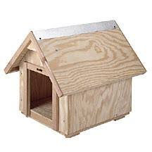 Dog House Plans  tips on building a dog house pitched roof dog house