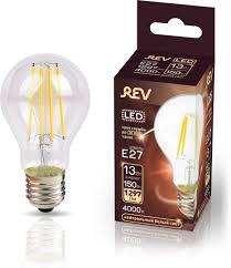 <b>Лампочка REV Deco</b> Premium Filament A60, Холодный свет, E27 ...
